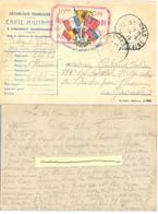 GUERRE 14-18 10me RÉGION HÔPITAL COMPLÉMENTAIRE N° 94 °° BRISTOL °° PARAMÉ (I.-&-V.) TàD ST MALO ILLE ET VILAINE 14-6-15 - Marcophilie (Lettres)