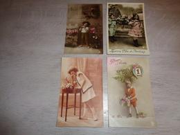 Beau Lot De 60 Cartes Postales De Fantaisie Enfants  Enfant      Mooi Lot Van 60 Postkaarten Van Fantasie Kinderen  Kind - Postkaarten