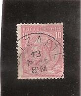Belgique N°46 Selzaete - 1884-1891 Léopold II