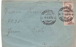 LETTERA FERMO POSTA - 1900-44 Victor Emmanuel III