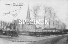 Kerk En Kerkhof - Leisele - Alveringem