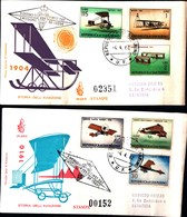 13168a) CartolinaF.D.C.SAN Marino  Storia Dell'aeroplano - 4 Aprile 1962 - FDC