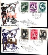 13170a) CartolinaF.D.C.SAN Marino  Giostre E Tornei - 22 Giugno 1963 - FDC