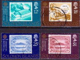 SOLOMON ISLANDS 1983 SG #508-511 Compl.set Used World Communication Year - Solomon Islands (1978-...)