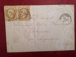 Angoulême GC 105 Cachet H - Marcophilie (Lettres)