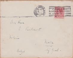 ENVELOPPE TIMBRE 1926 AMSTERDAM CENTRAL  (STATION) - Poststempel