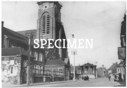 Fotokaart Dorpsplaats 1920  Lauwe - Menen