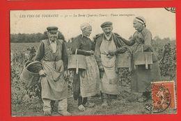 37-046 - INDRE ET LOIRE - JOUE LES TOURS - LA BORDE - Vieux Vendangeurs - Frankreich