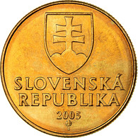 Monnaie, Slovaquie, Koruna, 2005, SPL, Bronze Plated Steel, KM:12 - Eslovaquia