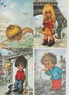 19 / 8 / 484  -  LOT. DE. 28  C P M. - ENFANTS. MICHEL  T  - Toutes Scanées - 5 - 99 Karten