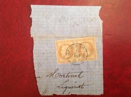 28A Sur Fragment Gare De Montpellier - Postmark Collection (Covers)