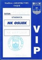 Sport Ticket UL000761 - Football (Soccer Calcio) Osijek Vs Marsonia 2003-08-23 - Match Tickets