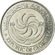 Monnaie, Géorgie, 20 Thetri, 1993, SPL, Stainless Steel, KM:80 - Géorgie