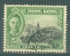 Hong Kong: 1941   Centenary Of British Occupation Set    SG165    5c    Used - Hong Kong (...-1997)