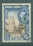 Hong Kong: 1941   Centenary Of British Occupation Set    SG167    25c    Used - Hong Kong (...-1997)
