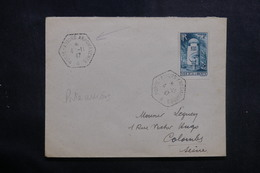 FRANCE - Oblitération Du Porte Avion Arromanches En 1947 Sur Enveloppe Pour Colombes - L 40938 - Seepost