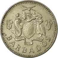 Monnaie, Barbados, 10 Cents, 1979, Franklin Mint, TTB, Copper-nickel, KM:12 - Barbades