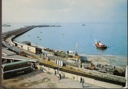Ryde - Arrival Of Hovercraft - Isle Of Wight - Train, Eisenbahn, Chemin De Fer - Angleterre