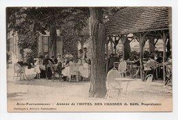 - CPA AVON-FONTAINEBLEAU (77) - Annexe De L'HOTEL DES CHASSES (belle Animation) - Photo L. MÉNARD - - Avon
