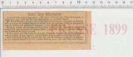 Presse 1899 Cent Fois Marraine Annie Fletcher De Langton Angleterre Layette Bébé 226Z - Non Classificati