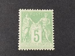Sage N° 102 Neuf ** Gomme D'Origine Avec Bon Centrage  TTB - 1898-1900 Sage (Tipo III)