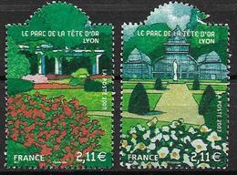 France 2007 N° 4047/4048 Neufs Jardins De France Sous Faciale - France