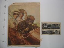 1909 JUGEND 43 Automobile CPA Alwin Hansel Obercunewalde OL Stalag MAUVAIS ETAT - Livres, BD, Revues