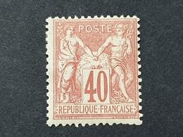 Sage N° 70 Neuf * Gomme D'Origine  TB - 1876-1878 Sage (Type I)