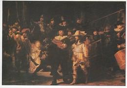 Rembrandt La Ronde De Nuit (2 Scans) - Pintura & Cuadros
