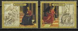 France 2005 N°3838/3839 Neufs Art Peintures Issus Du Bloc à La Faciale - 10% - France