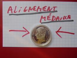 Léopold 1er. 2 1/2 FRANCS 1848 ARGENT-FRAPPE MEDAILLE-REFRAPPE MONNAIE ROYALE ! - 10. 2 1/2 Francs