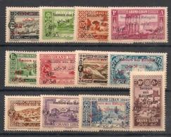 Grand Liban - 1926 - N°Yv. 63 à 74 - Série Complète - Neuf Luxe ** / MNH / Postfrisch - Great Lebanon (1924-1945)