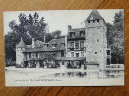 MONTCRESSON  (Loiret) -- Le Moulin Du Thil - Vue PEU COURANTE !! - Autres Communes