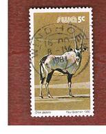 AFRICA SUD OVEST ( SWA -  SOUTH WEST AFRICA) -  SG 353 -  1980 ANIMALS: GEMSBOK   - USED ° - Africa Del Sud-Ovest (1923-1990)