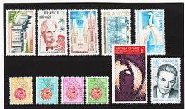 POST331 FRANKREICH - LOT 1975 Michl 1900/10 ** Postfrisch SIEHE ABBILDUNG - Ungebraucht
