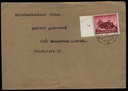WW II DR Wehrmacht II MG Schützen Auf Briefumschlag : Gebraucht Bielitz Oberschlesien - Ronneburg 1944 ,Bedarfserhaltu - Allemagne