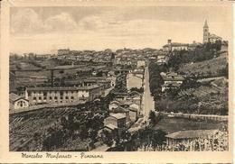 Moncalvo Monferrato (Alessandria) Scorcio Panoramico, Partial View, Vue - Alessandria