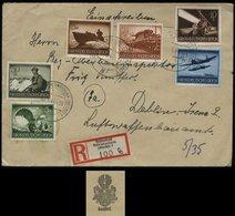 WW II DR Wehrmacht II Auf R - Briefumschlag: Gebraucht Ostseebad Kühlungsborn - Deblin 1944, Bedarfserhaltung. - Briefe U. Dokumente