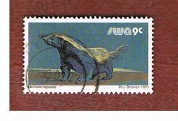 AFRICA SUD OVEST ( SWA -  SOUTH WEST AFRICA) -  SG 357 -  1980 ANIMALS: HONEY BADGER   - USED ° - Africa Del Sud-Ovest (1923-1990)