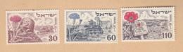 ISRAELE 1952 Anniversario Stato  Senza Appendice. - Unused Stamps (without Tabs)