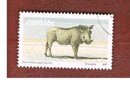AFRICA SUD OVEST (SWA - SOUTH WEST AFRICA) -  SG 359b -  1987 ANIMALS: DESERT WARTHOG   - USED ° - Africa Del Sud-Ovest (1923-1990)