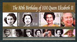 Pitcairn Islands 2006 80th Birthday Of Queen Elizabeth II MS MNH (SG MS715) - Pitcairn