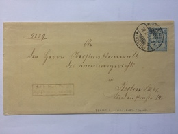 GERMANY 1908 Front Of Cover With `frei Durch Ablosung` Stamp Marienwerder To Berlin - Allemagne