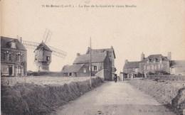 SAINT BRIAC LA RUE DE LA GARE ET LE VIEUX MOULIN  (( Lot 359 )) - Saint-Briac