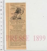 Presse 1899 Humour Littérature Pierre Corneille (Conquête De La Toison D'or) + Recette Ecrevisses à La Bordelaise  226Z - Old Paper