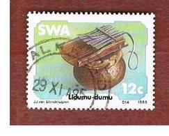 AFRICA SUD OVEST (SWA - SOUTH WEST AFRICA) -  SG 451 -  1985 MUSICAL INSTRUMENTS: LIDUMU-DUMU   - USED ° - Africa Del Sud-Ovest (1923-1990)