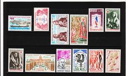 POST336 FRANKREICH - LOT 1973 Michl 1851/62 ** Postfrisch SIEHE ABBILDUNG - Ungebraucht