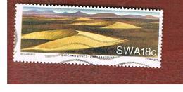 AFRICA SUD OVEST (SWA - SOUTH WEST AFRICA) -  SG 511 -  1989   NAMIB  DESERT SAND DUNES   - USED ° - Africa Del Sud-Ovest (1923-1990)
