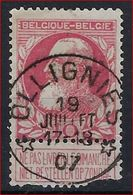 Nr. 74 Met ZELDZAME En MOOIE DEPOTS - RELAIS Afstempeling Van OLLIGNIES ; Staat Zie Scan ! - 1905 Barbas Largas
