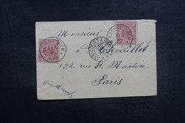 ALLEMAGNE - Petite Enveloppe De Hagendingen Pour La France En 1892, Affranchissement Plaisant - L 40961 - Germany
